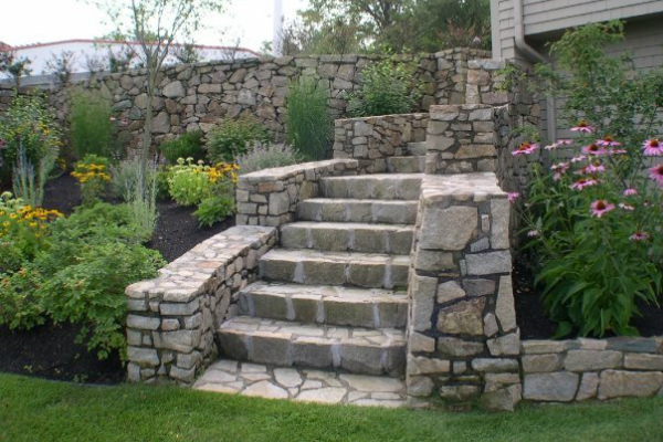 Natural Stone Vs Concrete Paver Patio For Your MA Home